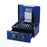 CARL Cash Box [CB-D8660] - Blue - Cash Box